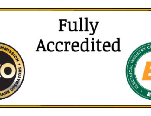NCCCO Fully Accredited